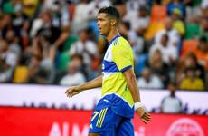 Ronaldo leaves Juventus training with injury a week before Ireland clash