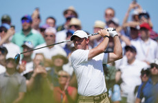 Rory McIlroy takes early share of lead at second FedEx Cup play-off event