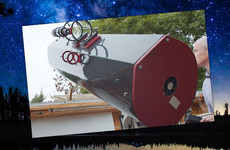 Watch: The Dubliner exploring the universe from his homemade observatory