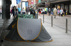 Concern as number of homeless people rises for second consecutive month