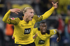 Haaland leaves it late as Dortmund down Hoffenheim in added time