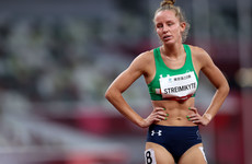 Greta Streimikyte finishes fifth in the T13 1500m final