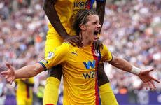 Gallagher brace earns Palace point in entertaining battle with West Ham