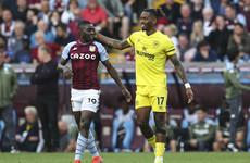 Toney finds the net as Brentford hold Villa to maintain unbeaten start