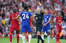 Liverpool forced to settle for a draw at home to 10-man Chelsea