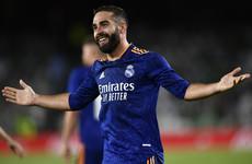Carvajal strike sees Real Madrid edge Betis to go top