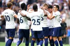 Tottenham top after Son strike extends winning start against Watford