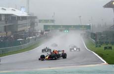 Hamilton blasts two-lap Belgian GP 'farce'