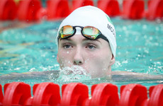 Barry McClements sets new PB to finish seventh in 100m backstroke final