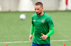 Conor Hourihane has joined the Irish contingent at Sheffield United