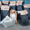 Gardaí seize €2.1 million worth of suspected cannabis found in boxes of vegetables in Laois