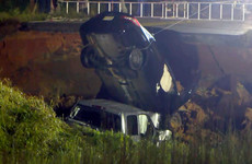Hurricane Ida: Two dead as road collapses in Mississippi