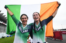 Superb Katie George Dunlevy and Eve McCrystal storm to time trial gold