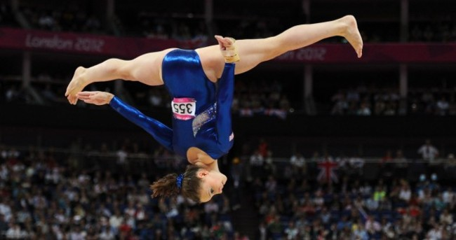 How do they do it? Amazing pictures of gymnasts in action