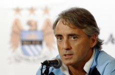 Unhappy Roberto Mancini gives up pursuit of Van Persie