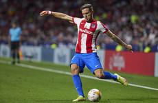 Chelsea complete season-long loan move for Atletico Madrid midfielder Saul Niguez