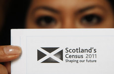 People will be able to self-identify as male or female in Scotland's census next year