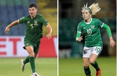 John Egan and Denise O'Sullivan win FAI Player of the Year awards