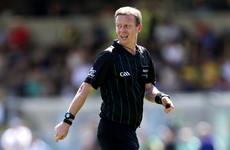 Joe McQuillan confirmed as referee for All-Ireland SFC final