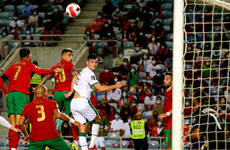 Egan's goal and Bazunu's penalty save give Ireland a brilliant start against Portugal