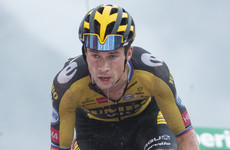 'Superman' Lopez claims brutal Vuelta stage win as Roglic retains lead