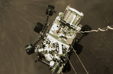 Nasa's newest Mars rover successfully collects first rock sample