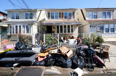 Hurricane Ida: Huge clean-up takes place after dozens killed in US floods