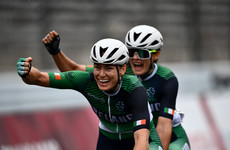 Katie-George Dunlevy and Eve McCrystal secure another cycling gold medal at Paralympic Games