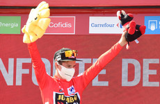 Another stage win for Cort Nielsen as Roglic closes in on Vuelta victory