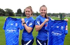 Birmingham City snap up Irish duo on eve of new Women's Super League season