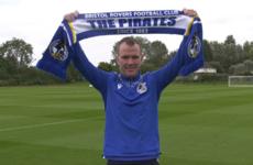 Glenn Whelan links up with Joey Barton at Bristol Rovers