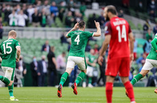 Late Duffy header spares Ireland a humiliating defeat to Azerbaijan