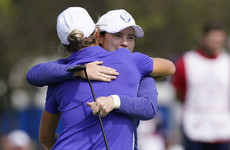 Ireland's Maguire gets the better of the Korda sisters as Europe start strongly