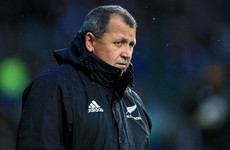 All Blacks coach backs new rule after controversial send off