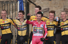 Slovenia's Roglic seals third successive Vuelta title after clinching final time-trial stage
