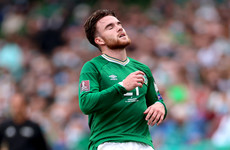 Aaron Connolly to miss Serbia game with injury