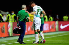 Ireland's O'Shea ruled out for up to six months with fractured ankle
