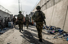 'All you could hear was gunshots': Soldier on scenes at Kabul airport as civilians tried to flee