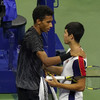 Thigh injury forces Spanish youngster and world number 55 player out of US Open quarter-final