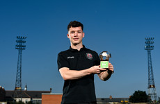 Bohemians winger Ali Coote named Player of the Month after excellent August