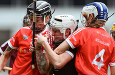 Dolan posts 0-6 as Galway hold nerve against Cork to end thriller as All-Ireland champions