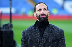 Rio Ferdinand says he encouraged gay male footballer to come out but the player was advised not to
