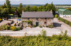 Paw-fect for pets: Charming Dublin cottage with stables, paddocks and a chicken coop