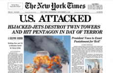 'A declaration of war': How the world's media covered the 2001 attacks on the Twin Towers