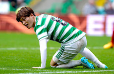 Celtic striker Kyogo Furuhashi out for 'at least three to four weeks'