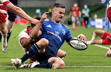 Sexton turns on the style as Leinster smash Harlequins at the Aviva