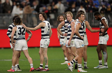 Disappointment for Irish as Geelong fall to Melbourne in AFL preliminary final