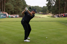 Lowry storms into contention at BMW PGA Championship and boosts Ryder Cup bid