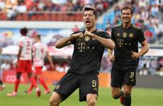 Lewandowski strikes again as Bayern Munich sweep aside RB Leipzig