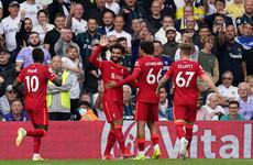 Mo Salah nets 100th Premier League goal as Liverpool see off Leeds